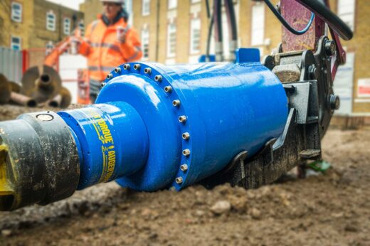 Auger Torque's second high torque drive in the heavy duty range – The Earth Drill 150,000Max