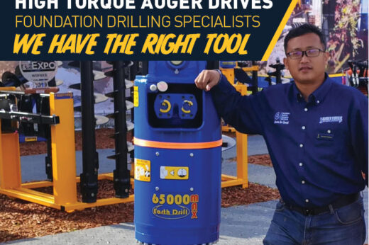 HIGH TORQUE AUGER DRIVES FOUNDATION DRILLING SPECIALISTS WE HAVE THE RIGHT TOOL